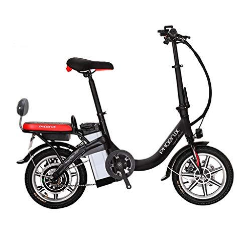 Bici elettriche Bicicletta Elettrica Staccabile Bicicletta al Litio Pieghevole Bicicletta Elettrica Bicicletta per Adulti Piccola Auto Elettrica, Vita Elettrica 55-60 Km