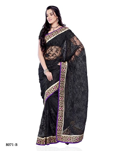 Diva Fashion-Surat women's net saree-8071B  available at amazon for Rs.1599