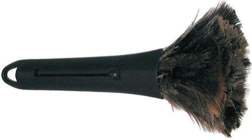 Staubwedel Straußenfeder Mini 32 cm | Handstaubwischer | Staubwischer | Abstauben | Duster
