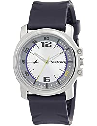 Fastrack Economy Analog Silver Dial Men's Watch -NM3039SP01 / NL3039SP01
