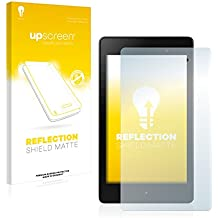 upscreen Reflection Shield Protector Pantalla Mate Google Nexus 7 Tablet 2 (2013) Película – Antireflejos, Anti-Huellas