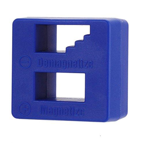 Merssavo 2 Stücke Blau Entmagnetisierer / Magnetisator-Werkzeug für Schraubenzieher, Schrauben, Bohrer, Bohrer, Einfaßungen, Muttern, Bolzen, Nägel und Aufbau-Werkzeuge