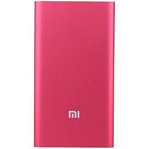 Xiaomi Powerbank Batería Externa MI de 5000mAh ORIGINAL de 9.9mm para iPhone, Smartphones, Tabletas y PC -