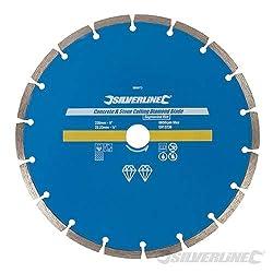 Silverline 589673 Concrete and Stone Cutting Diamond Blade 230 x 22.2 mm