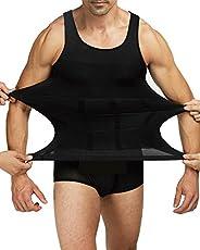 Shaxea Bodywear Mens Slimming Body Shaper Gynecomastia Vest Shirt Tank Top Compression Shirt, Shapewear for Me