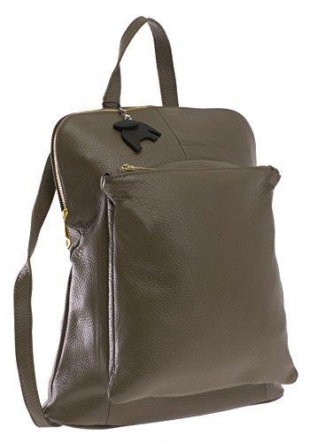 Big Handbag Shop, Borsa a zainetto donna Taglia unica Deep Taupe