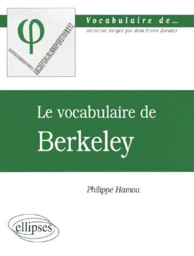 Le vocabulaire de Berkeley