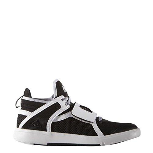 adidas Damen Borama Laufschuhe Schwarz / Silber / Weiß (Negbas / Plamat / Ftwbla)
