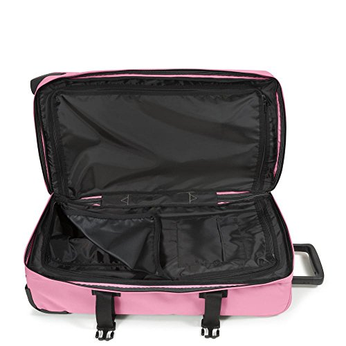 Eastpak Tranverz M Koffer, 67 cm, 80 L, Knit Grey Rosa (Powder Pink)