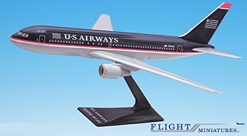 us-airways-97-05-767-200-airplane-miniature-model-plastic-snap-fit-1200-part-abo-76720h-016-by-fligh
