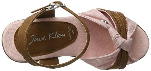 Jane Klain - 283 760, Sandalias Mujer Rosa Rosa (rosa)