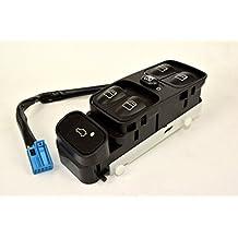 Consola De Interruptor Del Elevalunas Eléctrico Para El Conductor Mercedes W203 C320 Clase C Delantera Izquierda