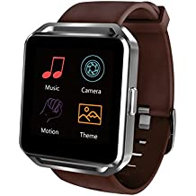 """Prixton swb17 - Smartwatch de 1.54"""" (Bluetooth, iOS, Android) color marrón"""