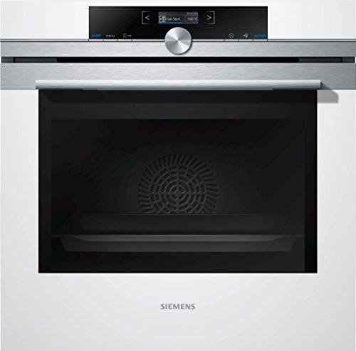 Preisvergleich Produktbild Siemens HB674GBW1 iQ700 Backofen Elektro / 71 L /Selbstreinigungsautomatik / weiß / Edelstahl