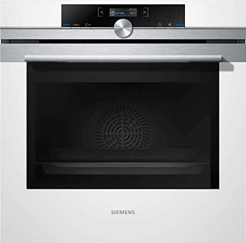 Siemens HB634GBW1 iQ700 Backofen Elektro/A+/71 L/weiß/Sanftgaren/TFT-Display/4D-Heißluft