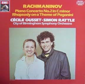 Rachmaninov: Klavierkonzert Nr. 2 & Rhapsodie über ein Thema von Paganini [Vinyl LP] [Schallplatte]