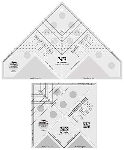 Creative Grids Quilt-Lineal für Katzen, Größe XL