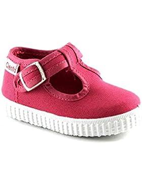 CIENTA Botón de Zapatos de Color Rosa Fucsia Bebé Beb 51000 Fresa