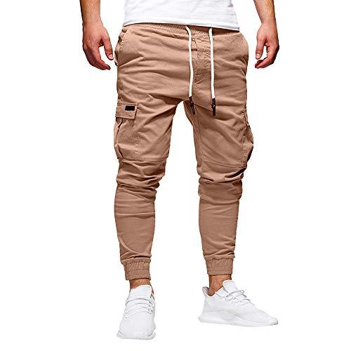 STRIR Pantalones Hombre Casuales Deporte Joggers Pants