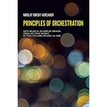 Principles of orchestration - Livre