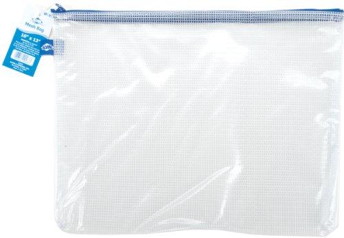 Clear Mesh Bag W/Zipper 10