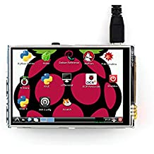 3.5 inch Touch Screen TFT LCD (A) 320*480 Designed for placa base Raspberry Pi RPi/Raspberry Pi 2/3 Model B