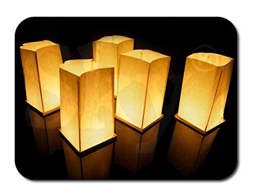 Sky Lanterns Ltd. Schwimmende Chinesen Wünschen Wasserlaternen für Besondere Anlässe, Teiche, Flüsse, Hochzeiten, Dekoration, Garten (20er Pack)