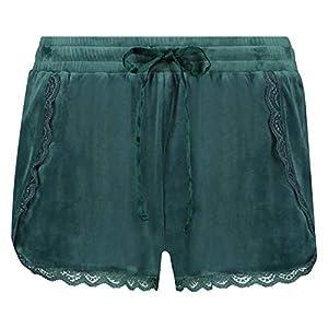 HUNKEMÖLLER Damen Shorts Velours Lace