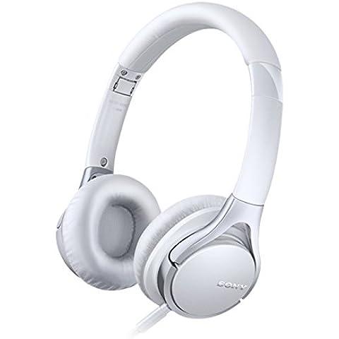 Sony MDR-10RC Cuffie On-ear, Audio Hi-Res, Bianco