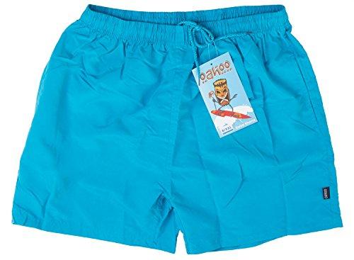 Original OAHOO Herren Badeshorts - Bermudashorts - Viele trendige Farben und Größen S-4XL - Qualität von celodoro Light Graphite
