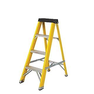 Abbey Fibreglass Swingback Step Ladder 4 Tread
