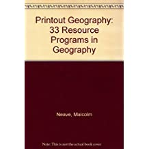 Printout Geography: 33 Resource Programs in Geography