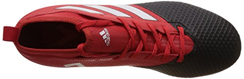 adidas Herren Ace 17.3 Primemesh Fg Stiefel Rot (Red/ftwr White/core Black)