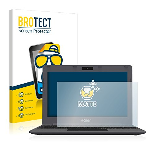 BROTECT Entspiegelungs-Schutzfolie kompatibel mit Haier Chromebook 11 (2 Stück) - Anti-Reflex, Matt