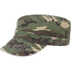 Gorra Militar Urban Destroyed estilo militargorra militar (S/M (54-57) - camuflaje)
