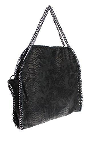 bag2basics-womens-shoulder-bag-black-snake-grau