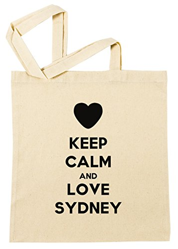 keep-calm-and-love-sydney-einkaufstasche-wiederverwendbar-strand-baumwoll-shopping-bag-beach-reusabl