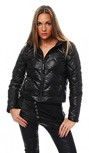 VERO MODA - Giacca da donna - Giacca impermeabile cappotto nero s