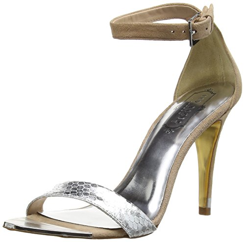 Ted Baker Juliennas, Escarpins Bride cheville Femme Argent (Silver/Light Tan)