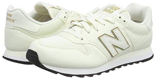 Bianco 37 New Balance Gw500v1 Sneaker Donna White/Gold 37.5 EU jtt
