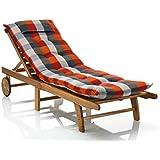 –Fregadero para camillas Sun Garden Sylt 10475–700en rojo gris (sin descanso)