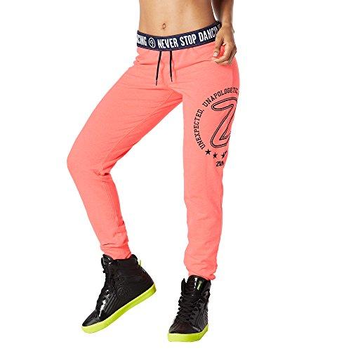 Zumba Fitness® Skinny Bottoms Pantalones, Todo el año, Mujer, Color Coral, tamaño Extra-Small