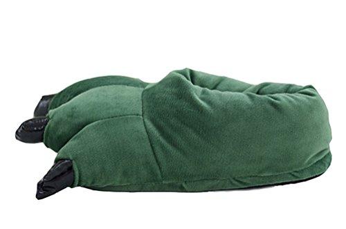 Pantoffeln Hausschuhe Hüttenschuhe Pantoffel Filzhausschuhe Tieroutfit Tierkostüme Cosplay Pantolette Erwachsene Gr.36-44 (Katze Krallen Für Halloween)