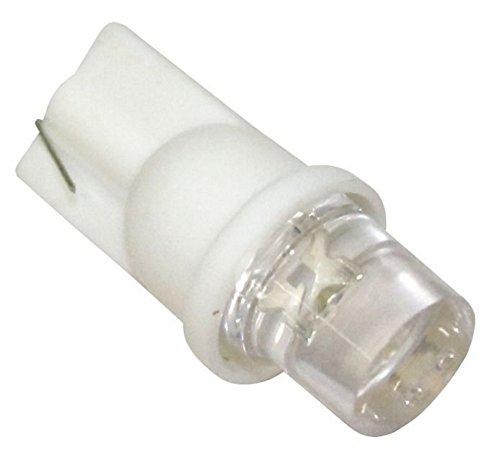 Aerzetix - 50x ampoule T10 W5W 12V LED blanc effet xénon veilleuses éclairage intérieur seuils de porte plafonnier pieds lecteur de carte coffre compartiment moteur C1903