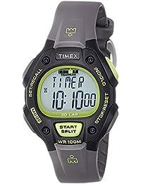 Timex Marathon T5K692SU - Reloj de cuarzo para hombres, color gris