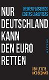 Nur Deutschland kann den Euro retten: Der letzte Akt beginnt