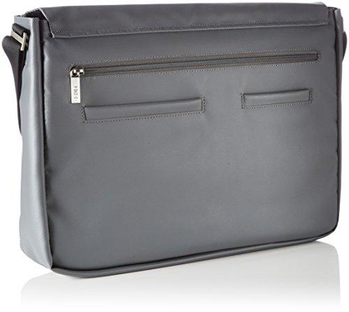 Bree Punch 711 Messenger 41 cm scomparto Laptop Grigio