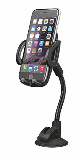 Preisvergleich Produktbild Trust Urban KFZ Handy Halterung mit Schwanenhals (15 cm Langer, 360 Grad drehbar, Smartphones bis 6Zoll)