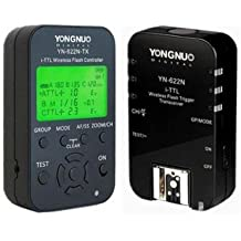 Pewe-Foto Yongnuo YN622 N Kit TX – Transceiver Kit Yongnuo YN-622 and Transmitter TX yn-622tx for Nikon (LCD, 100 M, Black