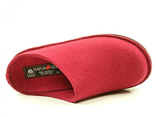 Haflinger Flair Soft, Chaussons Mules mixte adulte pink